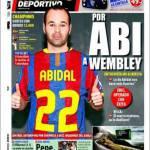 Mundo Deportivo: A Wembley per Abidal