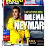 Mundo Deportivo: Dilemma Neymar