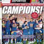 Mundo Deportivo: Campioni!