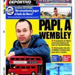 """Mundo Deportivo: """"Mi piacerebbe giocare accanto a Messi"""""""