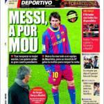 Mundo Deportivo: Messi per Mou