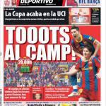 Mundo Deportivo: Tutti al campo!
