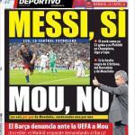 Mundo Deportivo: Messi si, Mou no