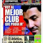 """Mundo Deportivo: Villa """"Arrivo nel miglior club del mondo"""""""
