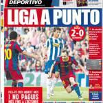 Mundo Deportivo: Liga a un punto