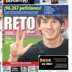 Mundo Deportivo: Sfida Messi