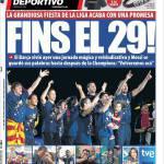 Mundo Deportivo: La promessa del 29