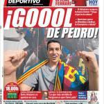 Mundo Deportivo: Goool di Pedro!