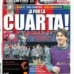 Mundo Deportivo: Per la quarta!