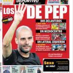 Mundo Deportivo: I 4 di Pep