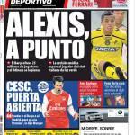 Mundo Deportivo: Cesc porta aperta