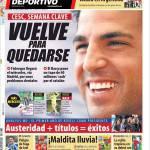 Mundo Deportivo: E' tornato per restare