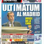 Mundo Deportivo: Ultimatum al Real Madrid