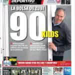 Mundo Deportivo: La borsa di Zubi, 80 milioni