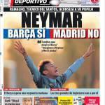 Mundo Deportivo: Neymar, Barcellona si, Real no