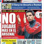 """Mundo Deportivo: """"Non giocherò più nell'Arsenal"""""""