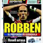 Mundo Deportivo: Robben il preferito di Guardiola