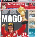Mundo Deportivo: Eterno Iniesta