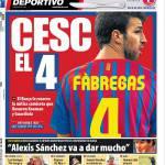 Mundo Deportivo: A Cesc il 4
