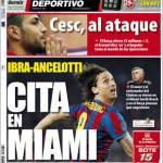 Mundo Deportivo: Ibra-Ancelotti, incontro a Miami