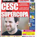 Mundo Deportivo: Cesc per la Supercoppa