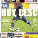 Mundo Deportivo: Oggi, Cesc