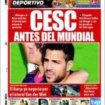 Mundo Deportivo: Cesc dopo il Mondiale