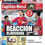 Mundo Deportivo: Reazione blaugrana