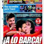 Mundo Deportivo: Tutti i ricambi di Tourè