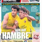"Mundo Deportivo: ""C'è ancora fame"""