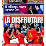 Mundo Deportivo: 45 milioni la nuova offerta per Fabregas