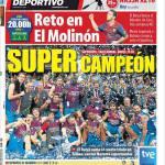 Mundo Deportivo: Sfida al Molinon