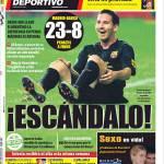 Mundo Deportivo: Scandalo!