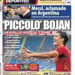 "Mundo Deportivo: ""Piccolo"" Bojan"