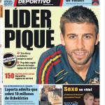 Mundo Deportivo: Leader Piquè