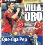 Mundo Deportivo: Villa d'oro
