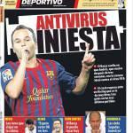 Mundo Deportivo: Antivirus Iniesta