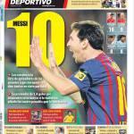 Mundo Deportivo: Messi 10