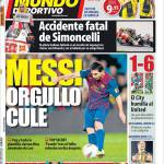 Mundo Deportivo: Messi orgoglio Barcellona