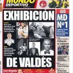 Mundo Deportivo: Esibizione di Valdes