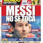 Mundo Deportivo: Messi non si tocca