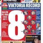 Mundo Deportivo: 8 Palloni d'oro