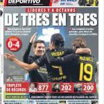 Mundo Deportivo: Di tre in tre