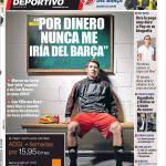 """Mundo Deportivo: """"Non andrei mai via per soldi dal Barcellona"""""""