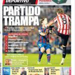 Mundo Deportivo: Partita trappola
