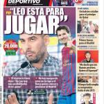 """Mundo Deportivo: """"Leo sta qua per giocare"""""""