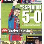 Mundo Deportivo: Lo spirito del 5-0