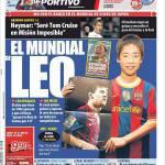 Mundo Deportivo: Il Mondiale di Leo