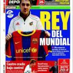 Mundo Deportivo: Re del Mondiale