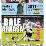Mundo Deportivo: Bale spazza tutti